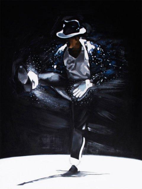 Michael Jackson, geniul magician in 12 picturi electrice - Poza 12
