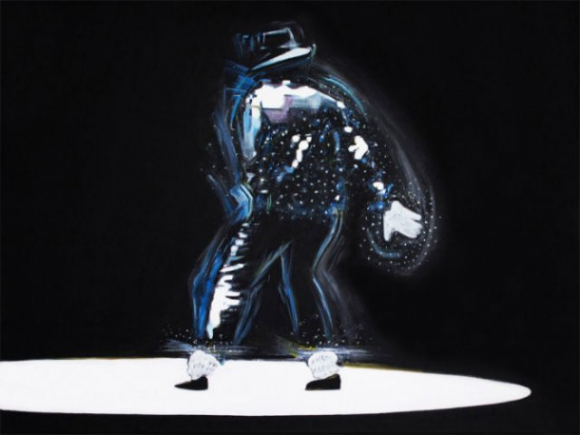 Michael Jackson, geniul magician in 12 picturi electrice - Poza 3