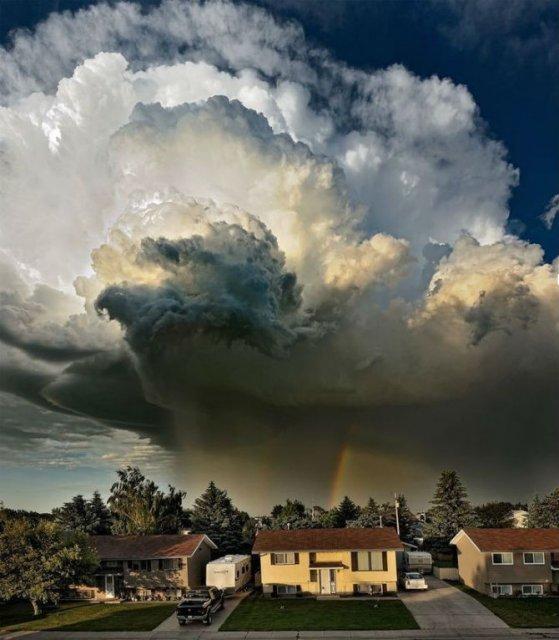 Calatorie aeriana printre cei mai frumosi nori - Poza 4