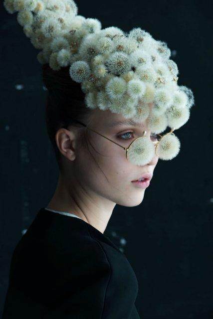 Portrete florale: Cum se transforma puful de papadie in accesoriu chic - Poza 5