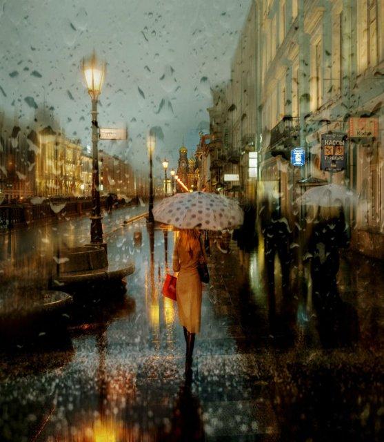 Frumusetea ploii din Rusia, in poze de colectie - Poza 1