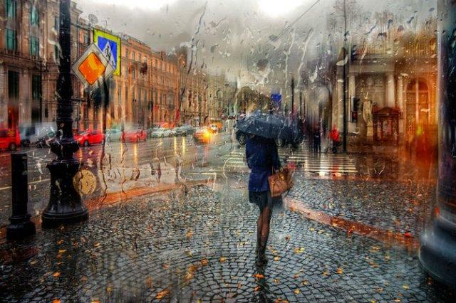 Frumusetea ploii din Rusia, in poze de colectie - Poza 2