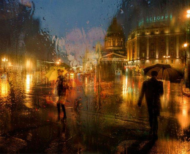 Frumusetea ploii din Rusia, in poze de colectie - Poza 4