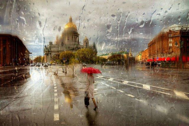 Frumusetea ploii din Rusia, in poze de colectie - Poza 5