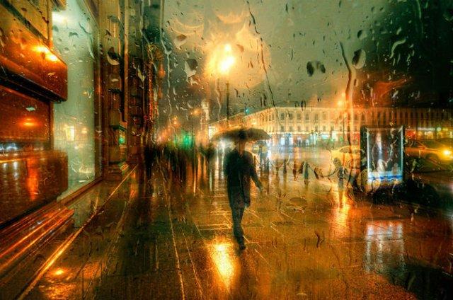 Frumusetea ploii din Rusia, in poze de colectie - Poza 6