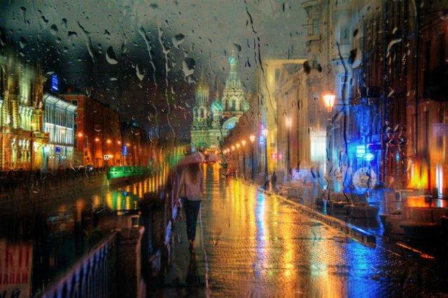 Frumusetea ploii din Rusia, in poze de colectie - Poza 8