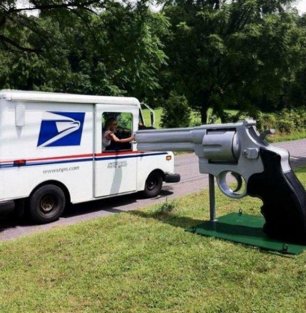 Cele mai ciudate cutii postale din SUA - Poza 16