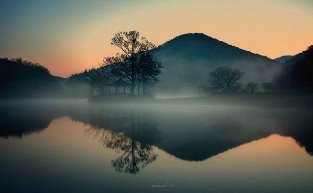 Peisaje superbe oglindite in apa - Poza 5