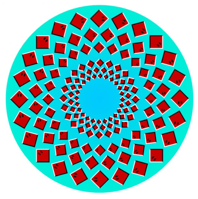 Opt iluzii optice geometrice halucinante - Poza 6