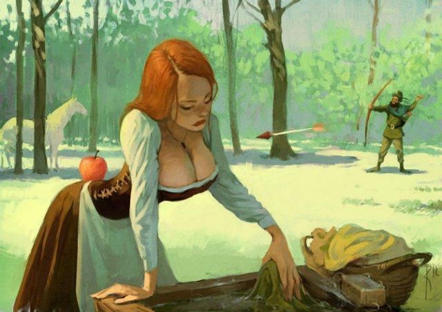 Ilustratiile controversate al unui artist rus - Poza 10