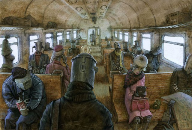 Ilustratiile controversate al unui artist rus - Poza 11