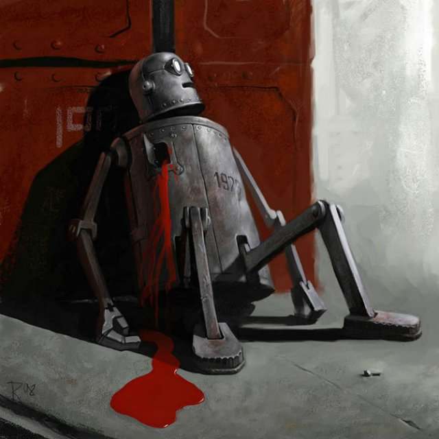 Ilustratiile controversate al unui artist rus - Poza 13