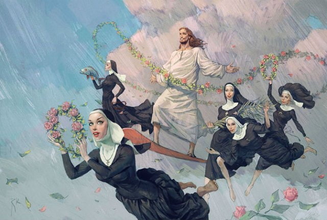 Ilustratiile controversate al unui artist rus - Poza 9