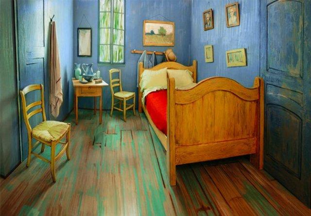 O noapte in dormitorul lui Van Gogh - Poza 4