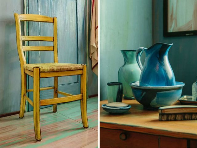 O noapte in dormitorul lui Van Gogh - Poza 2
