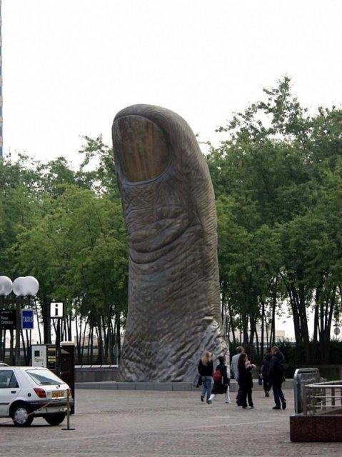 Sculpturi haioase din toate colturile lumii - Poza 14