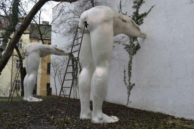 Sculpturi haioase din toate colturile lumii - Poza 3