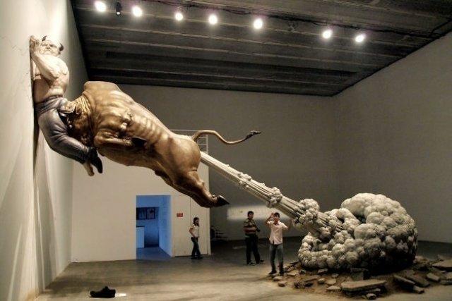 Sculpturi haioase din toate colturile lumii - Poza 9