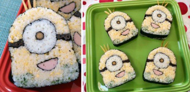 Arta cu sushi: Cele mai haioase imbucaturi cu specific japonez - Poza 9
