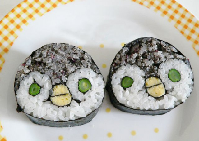Arta cu sushi: Cele mai haioase imbucaturi cu specific japonez - Poza 14