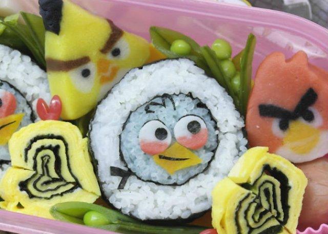 Arta cu sushi: Cele mai haioase imbucaturi cu specific japonez - Poza 15
