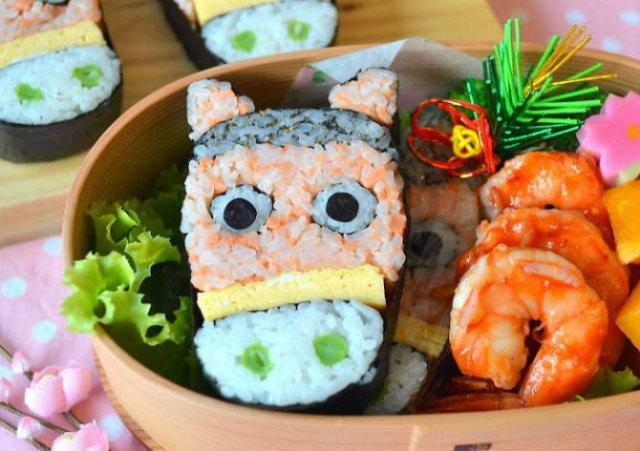 Arta cu sushi: Cele mai haioase imbucaturi cu specific japonez - Poza 16
