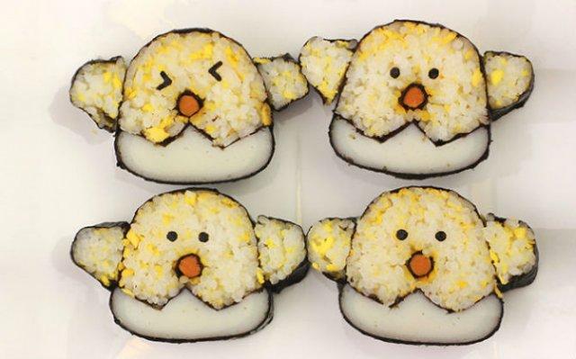 Arta cu sushi: Cele mai haioase imbucaturi cu specific japonez - Poza 17