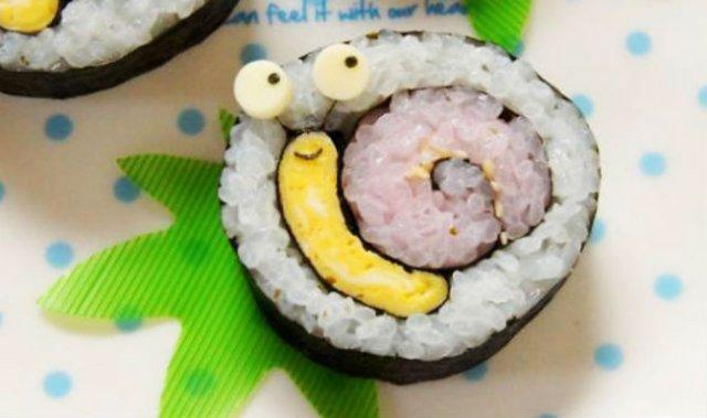 Arta cu sushi: Cele mai haioase imbucaturi cu specific japonez - Poza 2