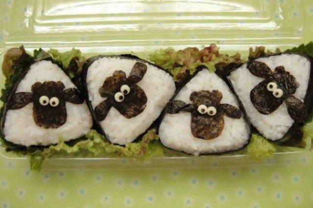 Arta cu sushi: Cele mai haioase imbucaturi cu specific japonez - Poza 4