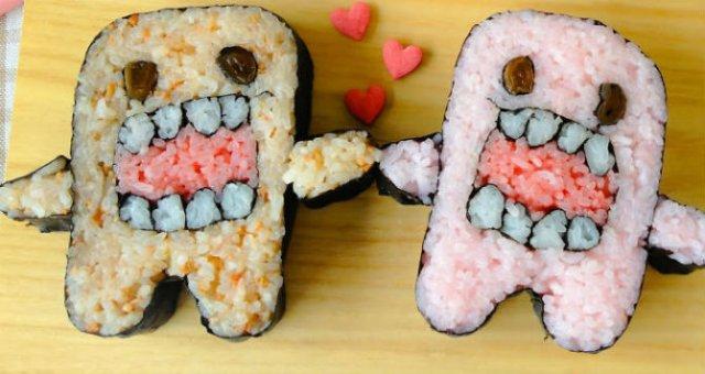 Arta cu sushi: Cele mai haioase imbucaturi cu specific japonez - Poza 6