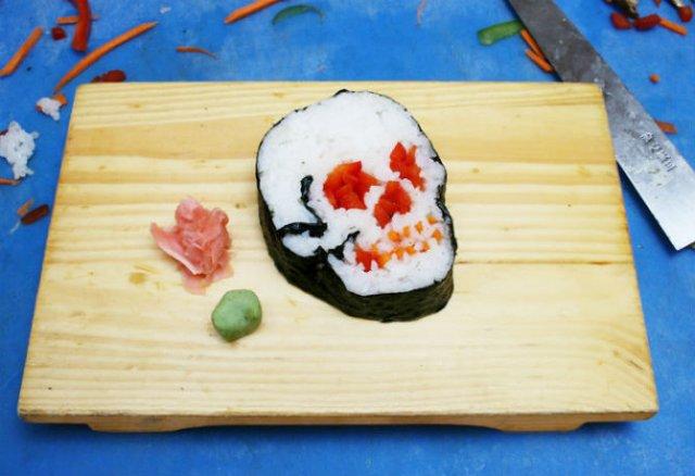Arta cu sushi: Cele mai haioase imbucaturi cu specific japonez - Poza 7