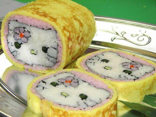 Arta cu sushi: Cele mai haioase imbucaturi cu specific japonez - Poza 8