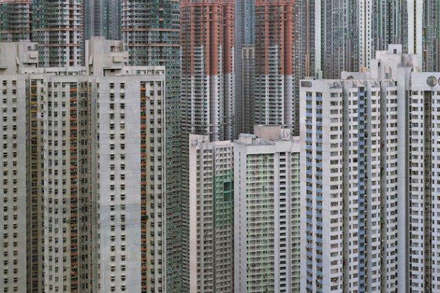 Densitatea arhitecturala din Hong Kong - Poza 2