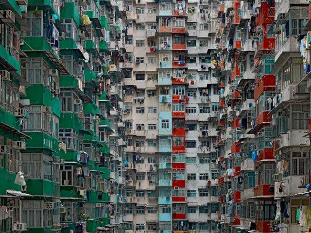 Densitatea arhitecturala din Hong Kong - Poza 4