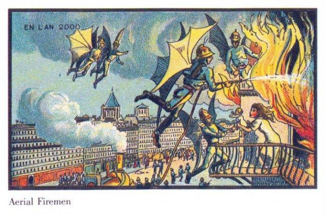 Lumea anilor 2000, ilustrata in secolul al XIX-lea