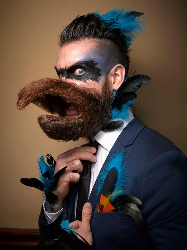Barbi si mustati excentrice, intr-un pictorial haios - Poza 1