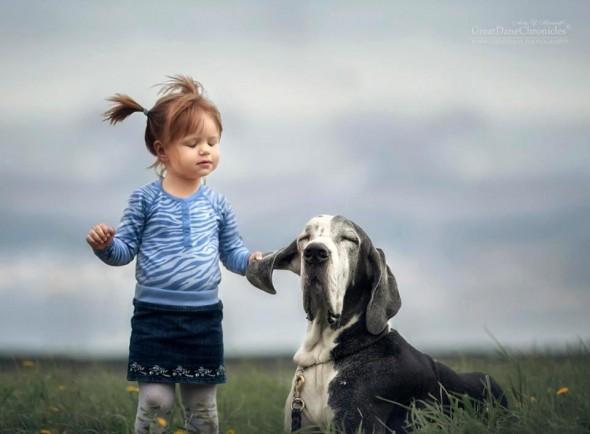 Copilasi si prieteni uriasi, in poze superbe - Poza 17
