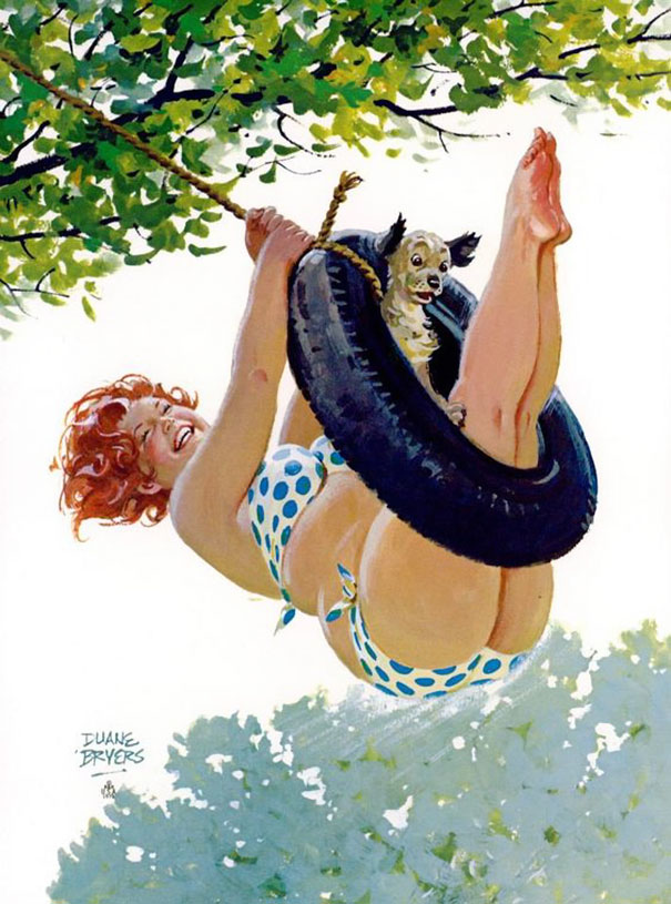 Din picanteriile anilor '50: Voluptoasa Hilda, in ilustratii simpatice - Poza 1