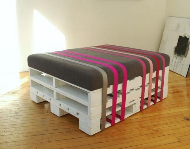 Ingeniozitate si stil: Obiecte de mobiler din paleti - Poza 11