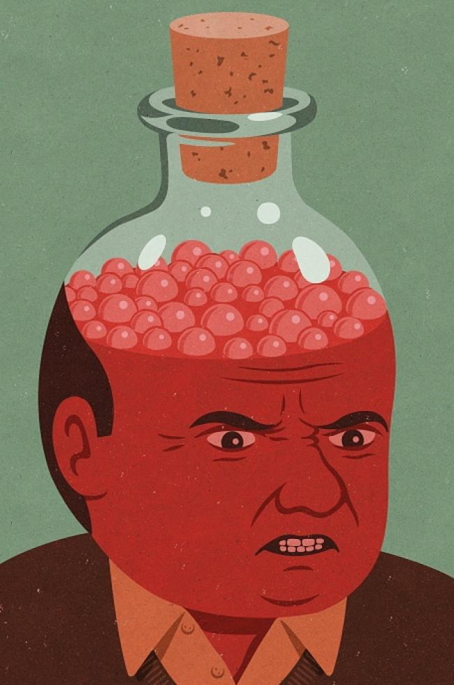 Drama omului controlat, in ilustratii satirice - Poza 11