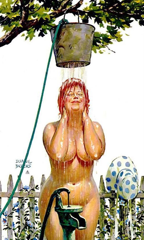 Din picanteriile anilor '50: Voluptoasa Hilda, in ilustratii simpatice - Poza 2