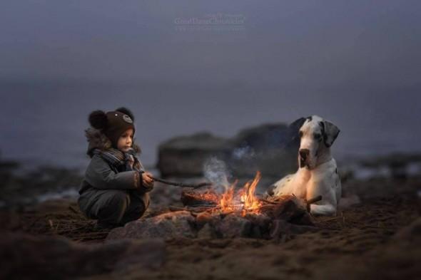 Copilasi si prieteni uriasi, in poze superbe - Poza 19