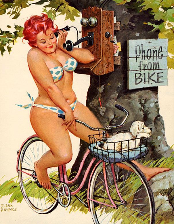 Din picanteriile anilor '50: Voluptoasa Hilda, in ilustratii simpatice - Poza 3