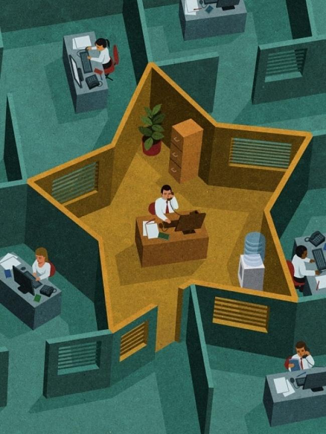 Drama omului controlat, in ilustratii satirice - Poza 13