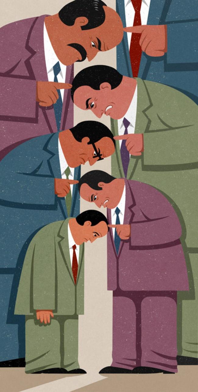 Drama omului controlat, in ilustratii satirice - Poza 14