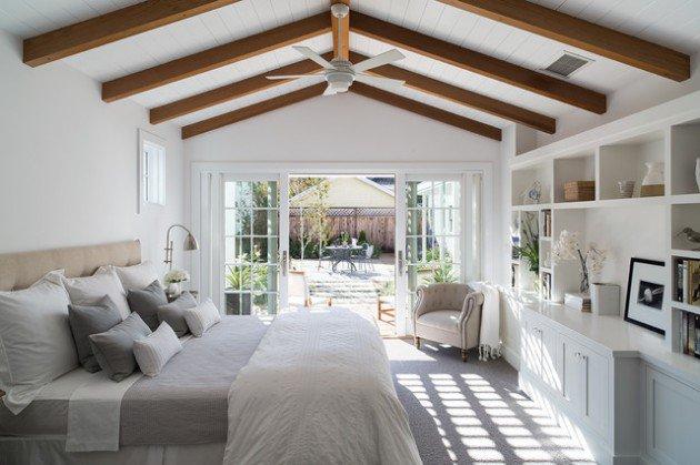 15+ Solutii geniale pentru redecorarea dormitorului - Poza 14