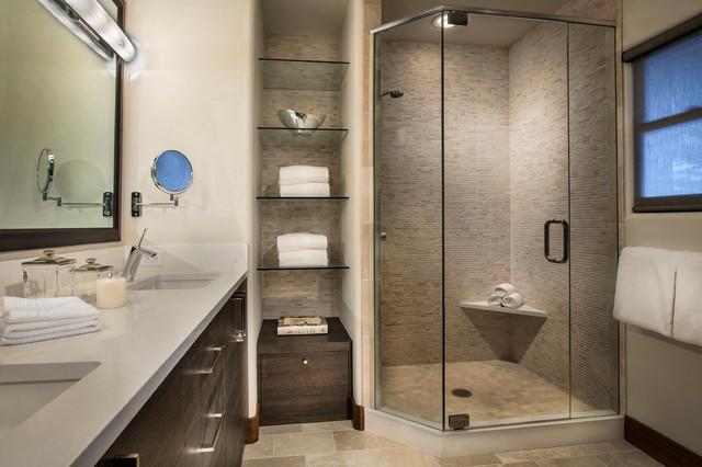 Idei de economisire a spatiului din baie - Poza 13