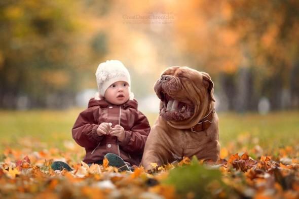 Copilasi si prieteni uriasi, in poze superbe - Poza 21