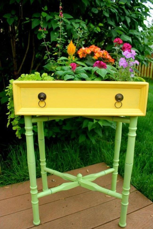 Idei geniale de reutilizare a mobilierului vechi - Poza 15