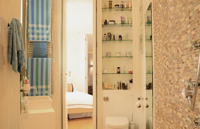 Idei de economisire a spatiului din baie - Poza 14